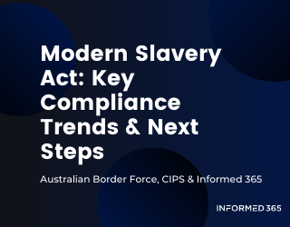 Webinar – CIPS ANZ – Modern Slavery Act – Key Compliance Trends and Next Steps