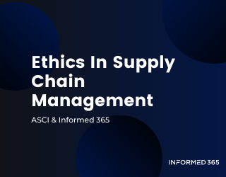 Webinar – ASCI – Ethics In Supply Chain Management